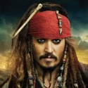 Johnny Depp as Captain Jack Sparrow; Pirates of the Caribbean: On Stranger Tides