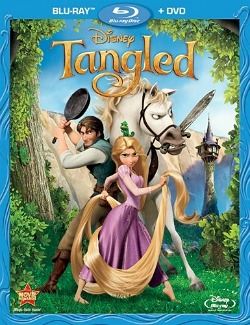 Tangled DVD and Blu-ray