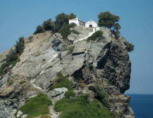 Mamma Mia, Agios Ioannis Chapel, Skopelos, Greece