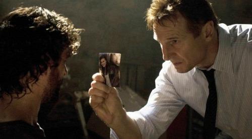 Taken, starring Liam Neeson