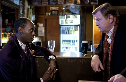 The Guard, Don Cheadle and Brendan Gleeson