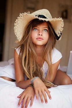Thylane Blondeau, 10-year-old Vogue Model