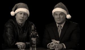 Bruce Willis and Krzysztof Trylinski