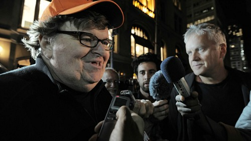 Michael Moore, Occupy Wall Street