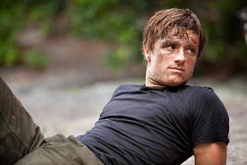 The Hunger Games: Josh Hutcherson as Peeta Mellark