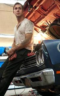 Ryan Gosling looking cool in 'Drive'