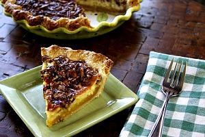 The Help: Cheesecake Pecan Pie