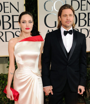 Golden Globes 2012: Brad Pitt and Angelina Jolie