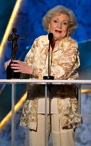 SAG 2012: Betty White