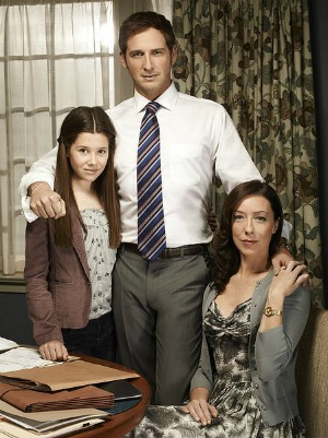 Natasha Calis, Josh Lucas and Molly Parker of The Firm | NBC
