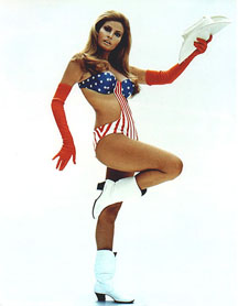 Raquel Welch as Myra Breckinridge