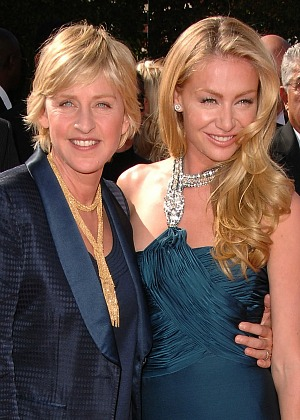 Ellen DeGeneres and wife Portia DeRossi