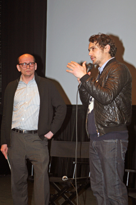 James Franco and Gavin Smith