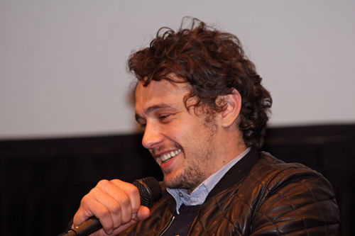 James Franco at Lincoln Center