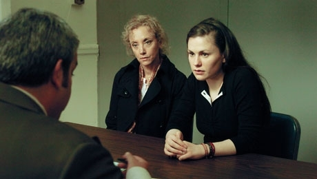 J. Smith Cameron and Anna Paquin in Margaret