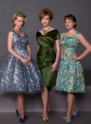 The retro fashions of Mad Men