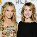 Chloe Moretz and Emma Roberts at the Hick Premiere