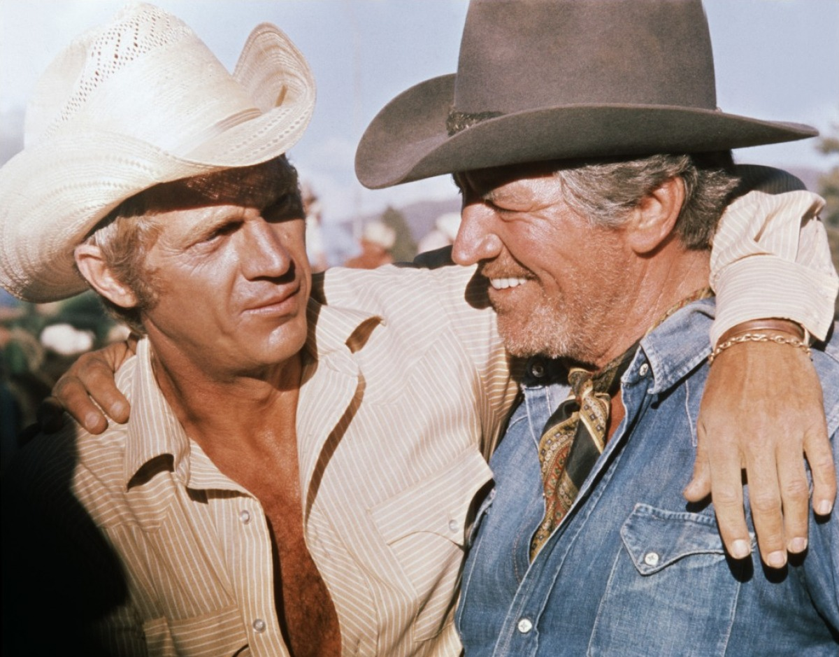 Junior Bonnor Steve Mcqueen And Robert Preston Reel