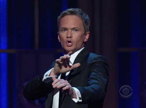 Neil Patrick Harris hosts the 2012 Tony Awards | CBS Photo