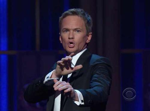 Neil Patrick Harris hosts the 2012 Tony Awards   CBS Photo