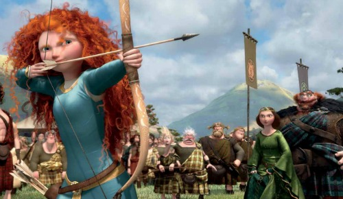 Kelly Macdonald in Disney Pixar's Brave