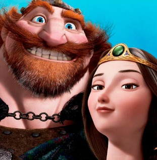 Fergus and Elinor from Brave