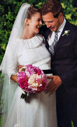 Drew Barrymore Wedding