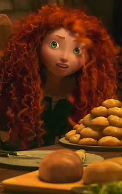 Brave: Merida eating