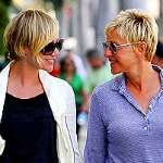 Cute Couple Alert: Ellen DeGeneres and Portia de Rossi