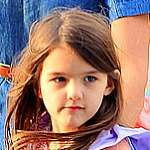 Katie Holmes and Suri Cruise in the Big Apple