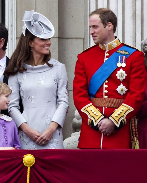 Kate Middleton and Prince William in June 2012