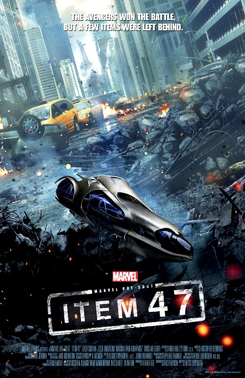 The Avengers: Poster for Item 47 Short
