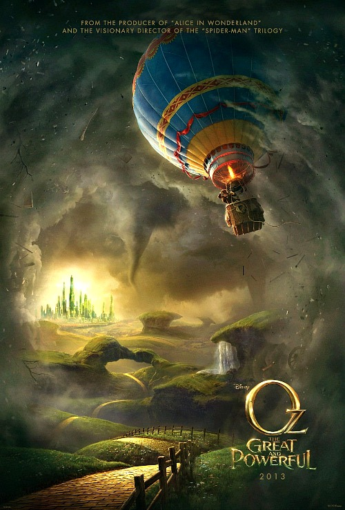 The Great and Powerful Oz Poster