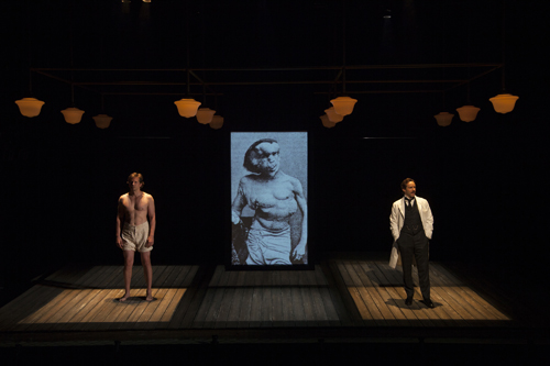 Bradley Cooper in The Elephant Man, Williamstown Theatre Festival