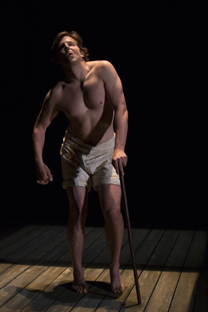 Bradley Cooper in The Elephant Man, Williamstown Theatre Festival