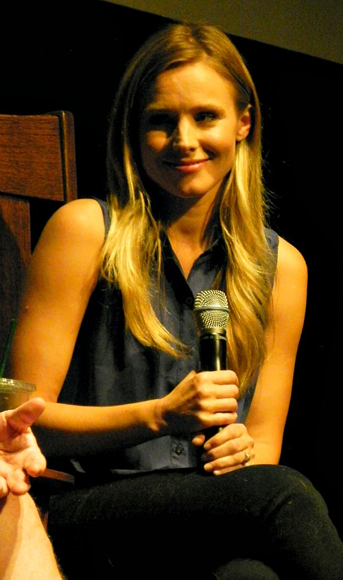 Kristen Bell at Traverse City Film Festival 2012