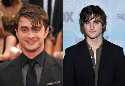 Daniel Radcliffe and Landon Liboiron