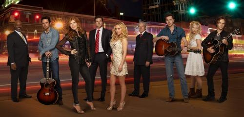 The cast of Nashville on ABC