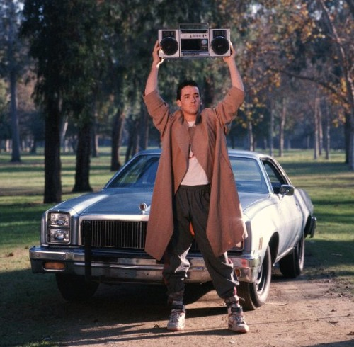 Say Anything, John Cusack with Boombox