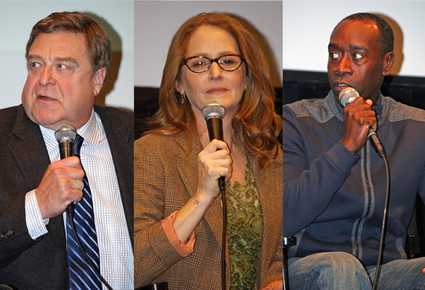 John Goodman, Melissa Leo, Don Cheadle