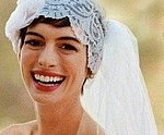 Take a Look at Anne Hathaway&#8217;s Hand-Painted Valentino Wedding Gown