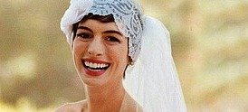 Anne Hathaway wedding gown