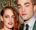 Kristen Stewart and Robert Pattinson at the Breaking Dawn Part 2 Premiere