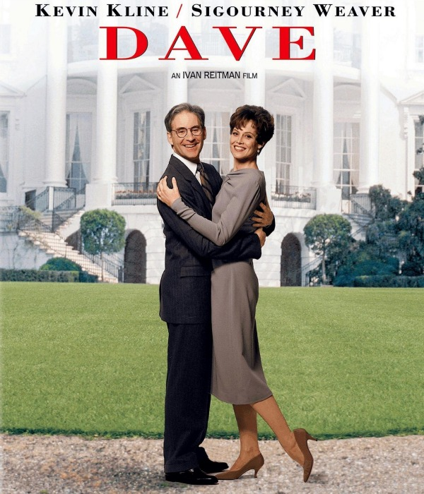 Dave, Kevin Kline, Sigourney Weaver