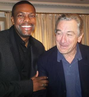 Chris Tucker and Robert De Niro of Silver Linings Playbook | Brad Balfour