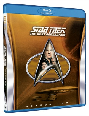 Star Trek: The Next Generation Season 2 Blu-ray
