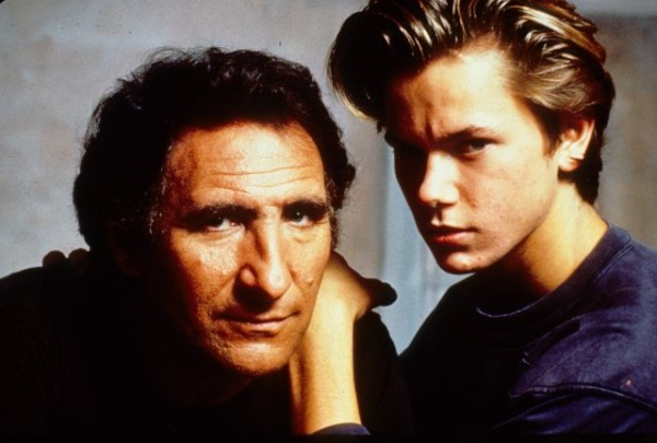 Judd Hirsch and River Phoenix