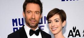 Hugh Jackman and Anne Hathaway