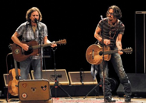 west of memphis: eddie vedder and johnny depp