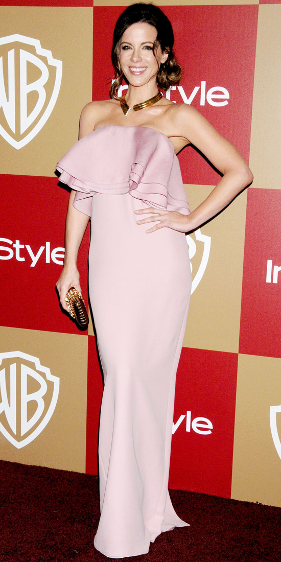 Kate Beckinsale at the Warner Bros. InStyle Globes After-Party